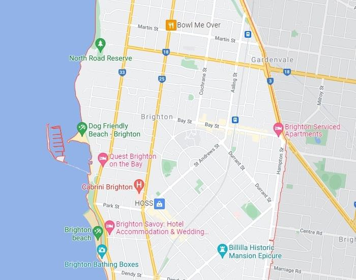 Brighton Map Area