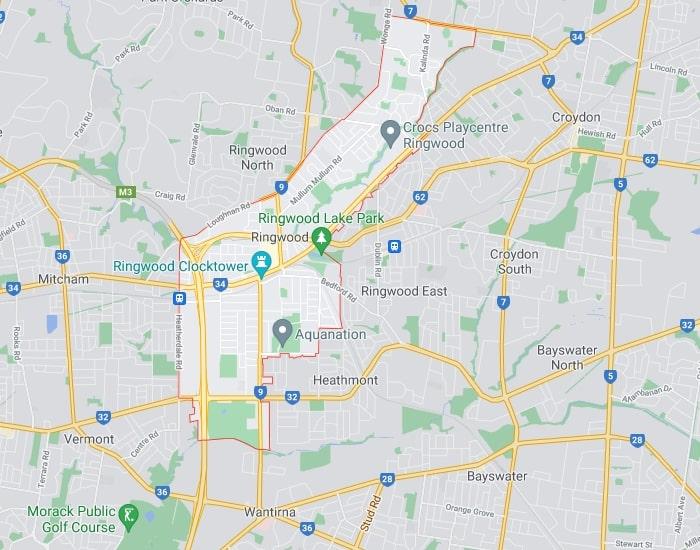 Ringwood Map Area